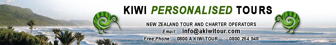 Kiwi Personalised Tours New Zealand tour and charter operators