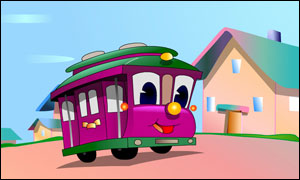 Trammy the Trolley Car